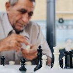 Meneer schaakt